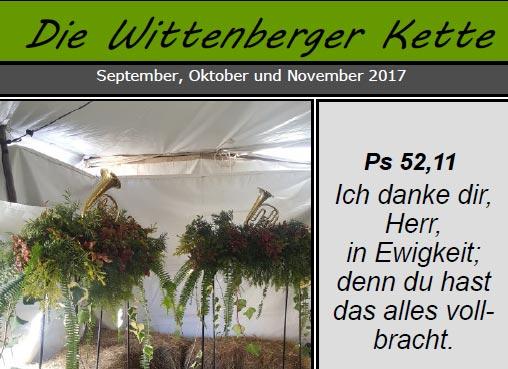Wittenberger Kette - Blog