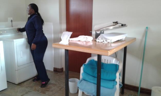 Die Küche im Pflegeheim Paulpietersburg wird renoviert 01