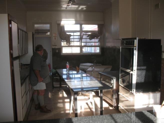 Die Küche im Pflegeheim Paulpietersburg wird renoviert 03
