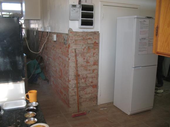 Die Küche im Pflegeheim Paulpietersburg wird renoviert 04